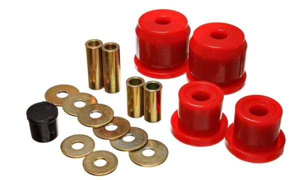 EnergySuspension Rear Differential Carrier Bushings red - Honda S2000