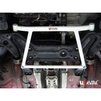 Ultra Racing Front Lower Bar 4-Point - 02-09 VW Polo 9N 1.8T