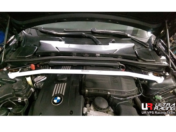 Ultra Racing Front Upper Strut Bar 2-Point - BMW E92 (335i) / BMW E93 3.5