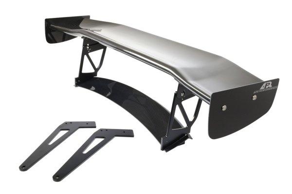 """APR Performance GTC-500 Adjustable Wing 71"""" (180 cm) + Carbon Fiber Active Spoiler Panel Replacement - 16+ Audi R8"""