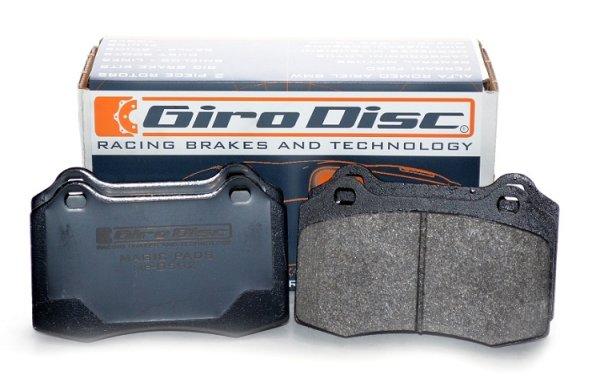 "GiroDisc ""Magic"" Performance Bremsbeläge Set vorn - 92-01 Kia Sephia (Mentor/Shuma) (FA/FB) 1.5/1.6/1.8"