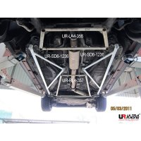 Ultra Racing Rear Lower Bar 4-Point - Volvo 850 Turbo...