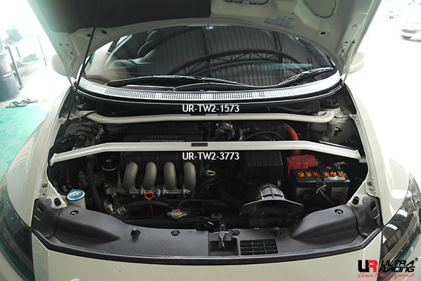 Ultra Racing Domstrebe vorn oben 2-Punkt V1 - 10-16 Honda CR-Z (ZF1) (2WD)