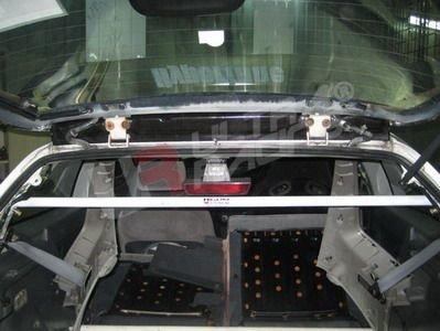 Ultra Racing C-Pillar Bar adjustable - 92-95 Honda Civic (2WD) (Hatchback)