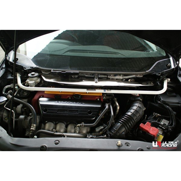 Ultra Racing Front Upper Strut Bar 2-Point - 06-11 Honda Civic (FN2) (Type R) 2.0 (2WD)