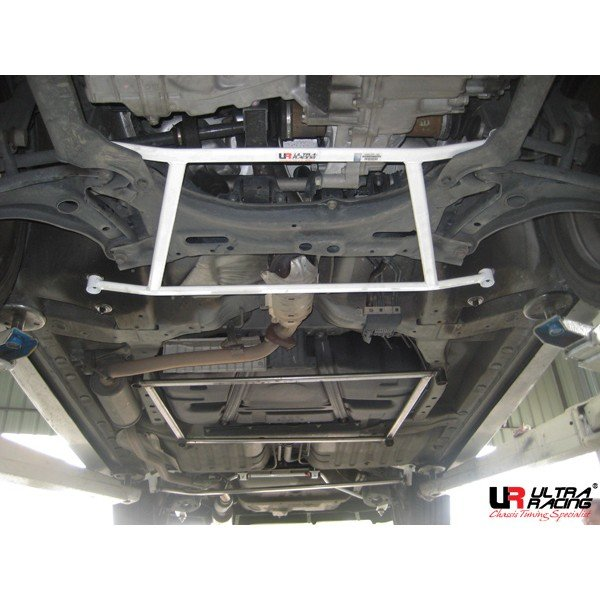 Ultra Racing Front Lower Bar 4-Point -03-08 Honda City (GD8) 1.5 (2WD) / 01-08 Honda Jazz/Fit (GD1) 1.5 (2WD)