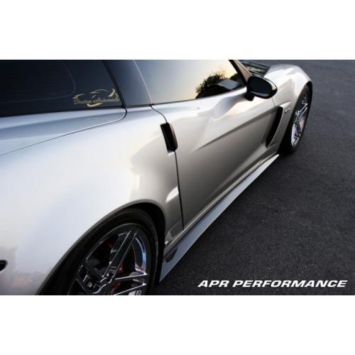 APR Performance Side Rocker Extensions - 06+ Chevrolet Corvette C6 Z06 +  Grand Sport