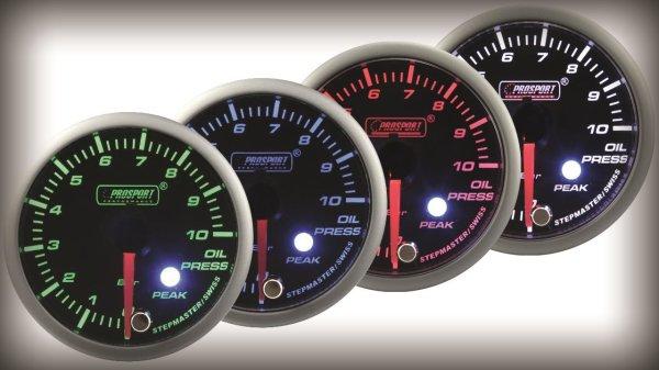 Prosport Racing Premium Series oil pressure