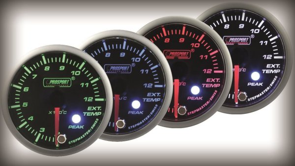 Prosport Racing Premium Series exhaust temperature