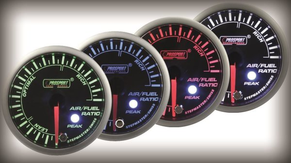Prosport Racing Premium Series air/fuel ratio