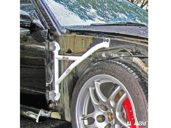 Ultra Racing Fender Bars 3-Point - 88-94 Nissan Silvia (S13) 2.0T (2WD)