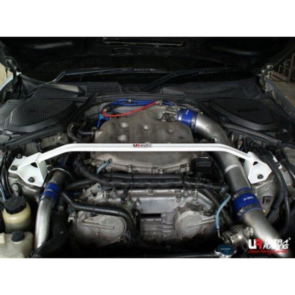 Ultra Racing Front Upper Strut Bar 2-Point - 03-08 Nissan Fairlady (350ZX) (Z33) 3.5 (2WD)