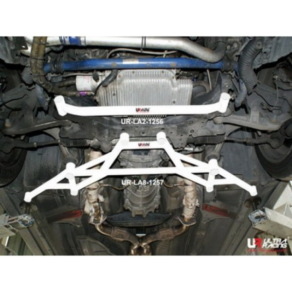 Ultra Racing Front Lower Bar 8-Point - 03-08 Nissan Fairlady (350ZX) (Z33) 3.5 (2WD)