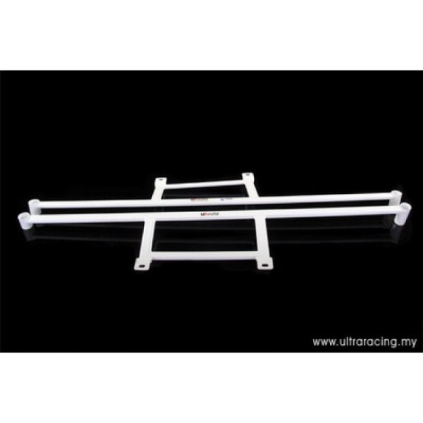 Ultra Racing Side Lower Bars 2x 4-Point - 95-10 Mitsubishi Lancer Evo IV / V / VI (CN9A/CP9A) 2.0T (4WD)
