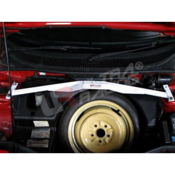 Ultra Racing Front Upper Strut Bar 4-Point - 89-99 Toyota MR2 (W20) 2.0 (3S-GTE) (2WD)