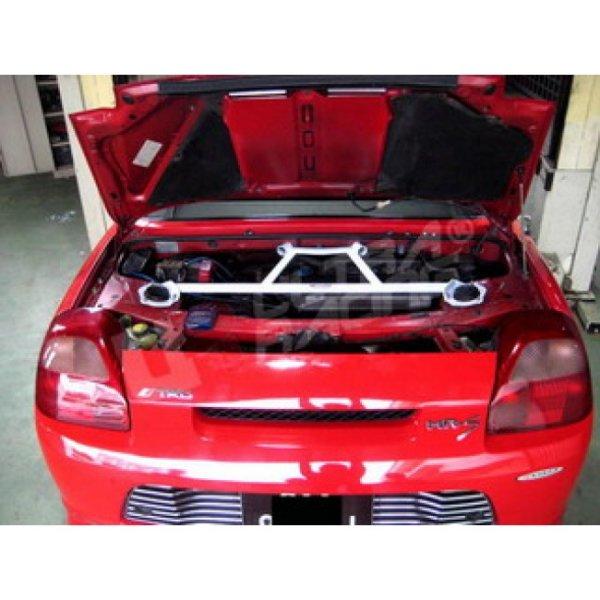 Ultra Racing Rear Upper Strut Bar 4-Point - 99-07 Toyota MRS (W30) 1.8 (2WD)