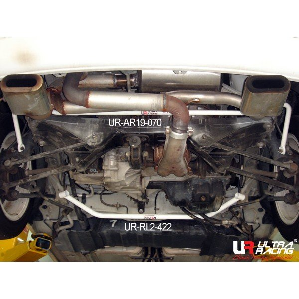 Ultra Racing Rear Lower Bar 2-Point - 99-03 Toyota MRS (W30) 1.8 (2WD)