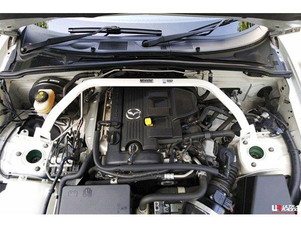 Ultra Racing Front Upper Strut Bar 2-Point - 05-15 Mazda MX-5 (NC) 2.0 (2WD)