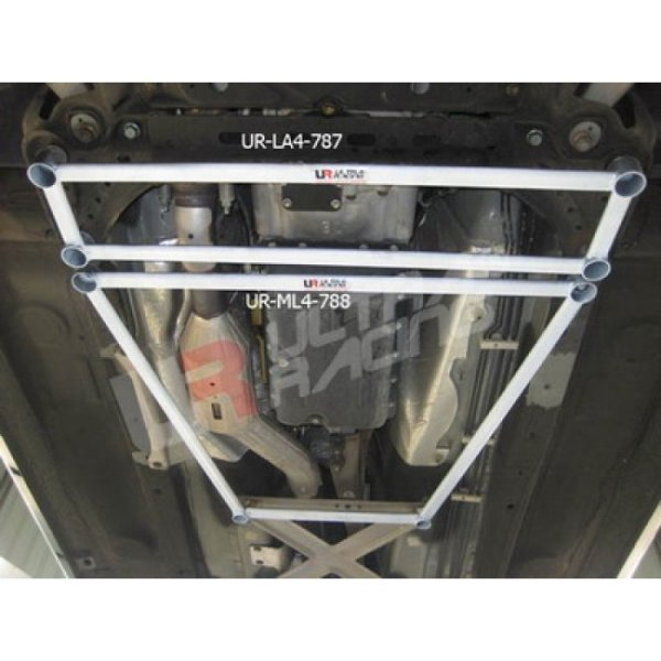 Ultra Racing Front Lower Bar 4-Point - 05-15 Mazda MX-5 (NC) 2.0 (2WD)