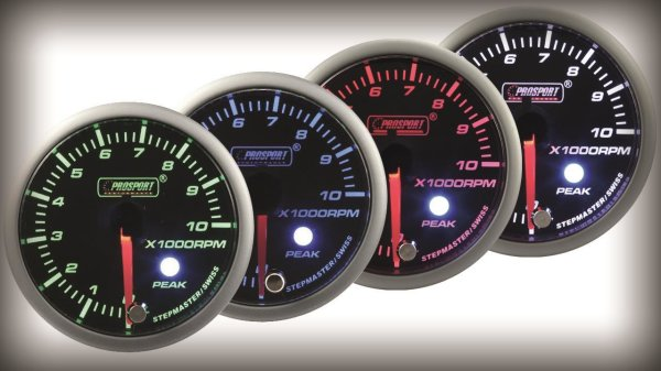 Prosport Racing Premium Series tachometer