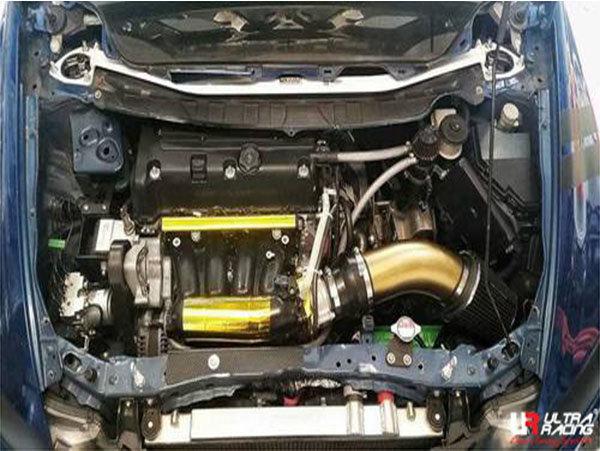 Ultra Racing Domstrebe vorn oben 2-Punkt - 06-11 Honda Civic (FD1/FD2/FG1/FG2) 1.8/2.0 (2WD)