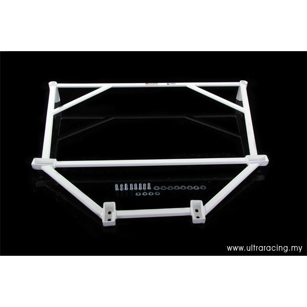 Ultra Racing Rear Lower Bar 6-Point - 05-11 Lexus GS300/GS350 (S190) 3.0/3.5 V6 (2WD) / 04-16 Toyota Mark X (X120/X130) 2.5 V6 (2WD)