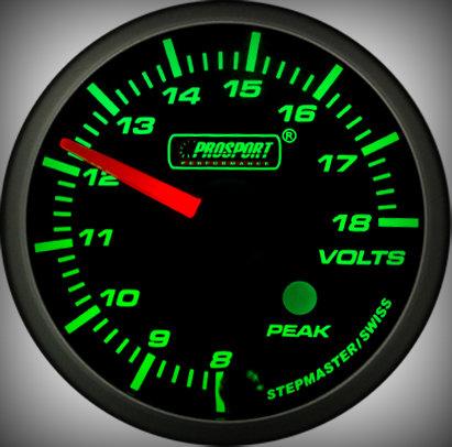 Prosport Racing Premium Series Electric Volt 60 mm, green-white, Smoked