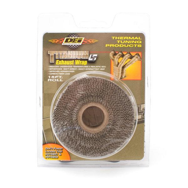 DEI Heat Wrap Titanium