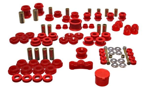 EnergySuspension HyperFlex Master Kit red - 94-01 Honda Integra