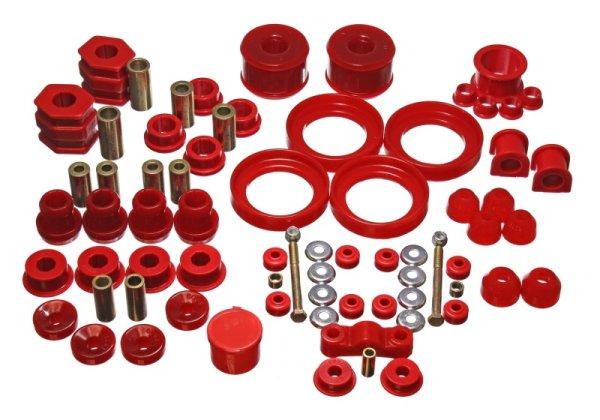 EnergySuspension HyperFlex Master Kit red - 96-00 Honda Civic (non Si)