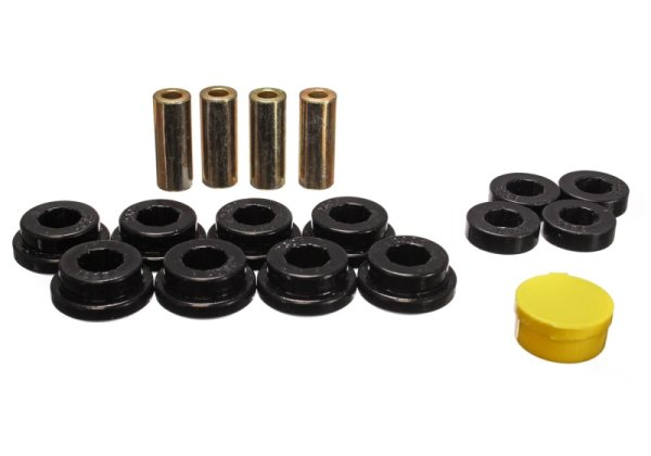 "EnergySuspension Rear Control Arm Bushings black - 92-95 Honda Civic EG5/EG6 / 90-01 Honda Integra ""non Type R"""