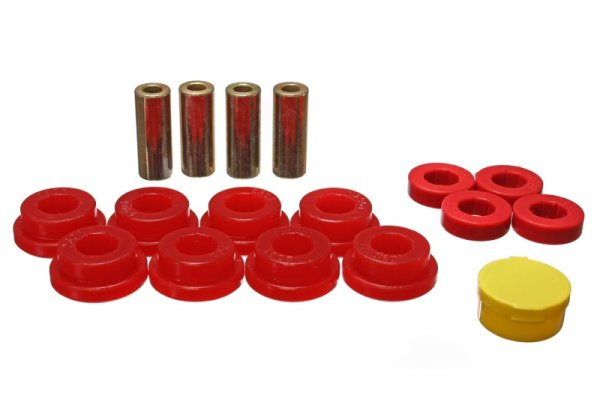 "EnergySuspension Rear Control Arm Bushings red - 92-95 Honda Civic EG5/EG6 / 90-01 Honda Integra ""non Type R"""