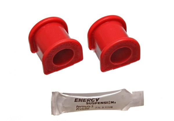 EnergySuspension Front Sway Bar Bushings red - 22mm - 96-00 Honda Civic