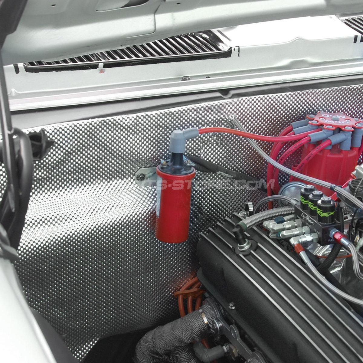 "11/"" Spal Pull fan VA09-AP8//C-54A 208mm dia Suction Ralloy Radiator Rally Car"