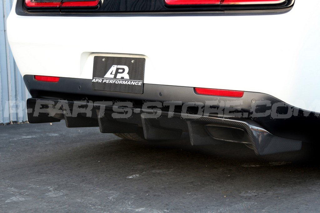APR Performance Rear Diffuser - 15+ Dodge Challenger Hellcat
