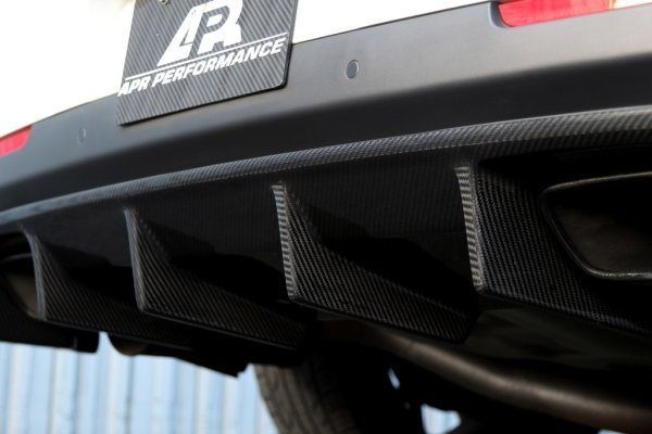 APR Performance Rear Diffuser - 15+ Dodge Challenger Hellcat (AB