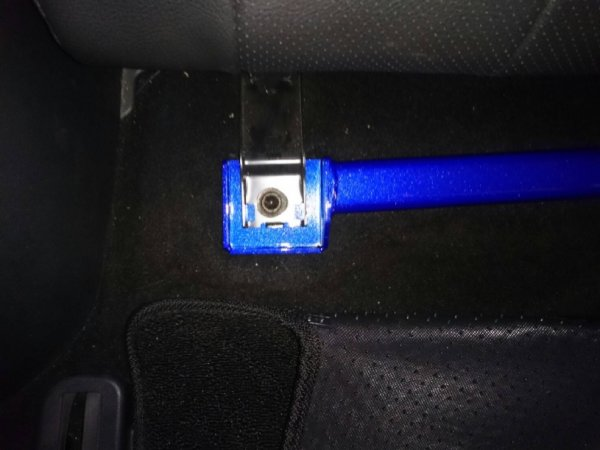 Hardrace Rear Floor Brace 3-Point - 05+ Mazda 5 CR/CW