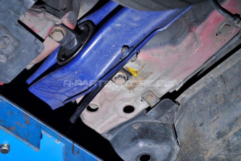 Hardrace Rear Trailing Arm Bushings (Harden Rubber) - 97-01 Honda CR-V  RD1-RD3