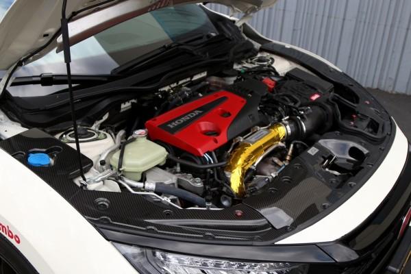 APR Performance Radiator Cooling Plate (Center) - 17+ Honda Civic Type-R FK8