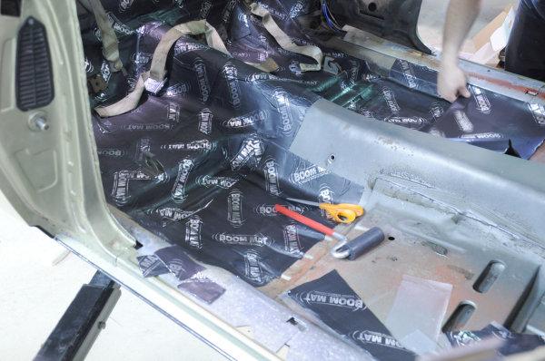DEI Boom Mat Vibration Damping Material