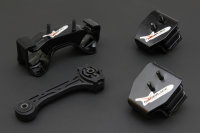 Hardrace Reinforced Engine Mount Set - 09-13 Subaru...