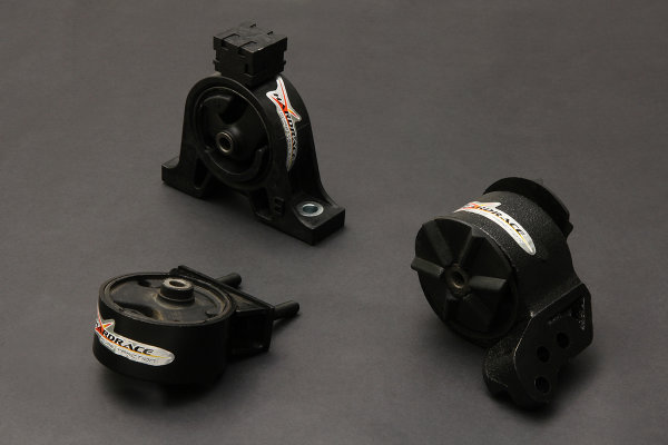 Hardrace verstärkte Motorhalter Set - 02+ Suzuki Solio