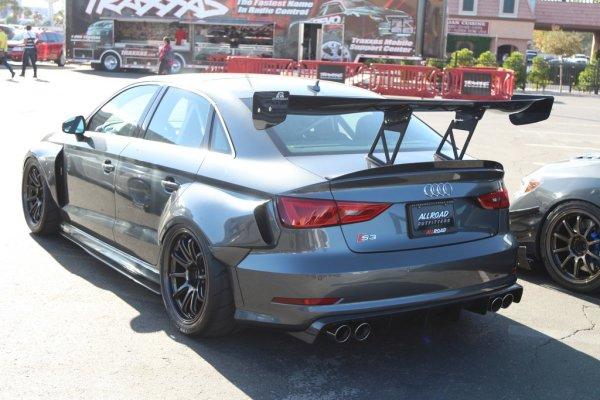 "APR Performance GTC-300 Adjustable Wing 67"" (170 cm) - 13-16 Audi S3"