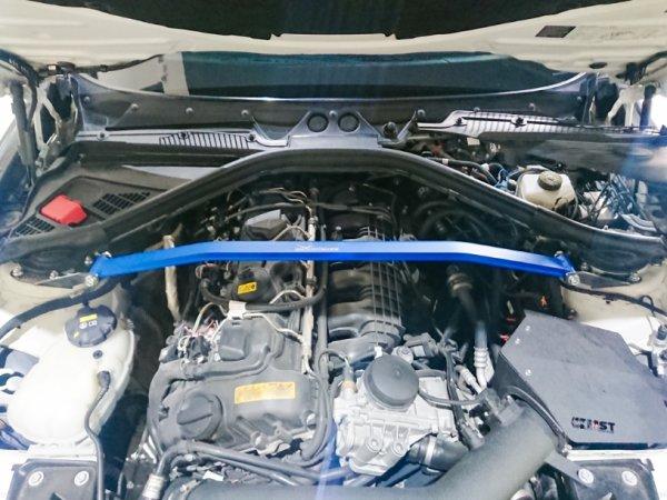 Hardrace Front Upper Strut Bar 2-Point - BMW 1 Series F2x (5-Holes)