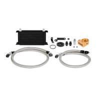 Mishimoto Oil Cooler Kit black with Thermostat - 06-07...