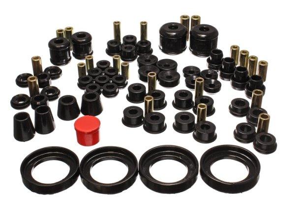 EnergySuspension HyperFlex Master Kit black - 97-00 Honda Prelude SH