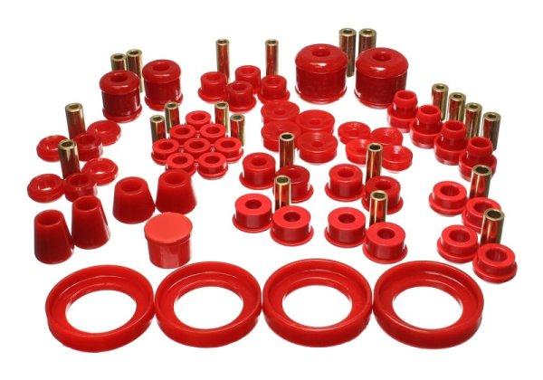 EnergySuspension HyperFlex Master Kit red - 97-00 Honda Prelude SH